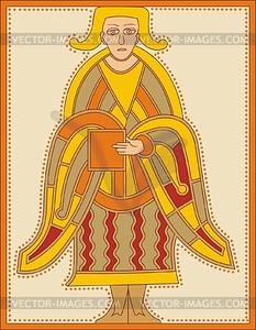 Hl. Lukas Evangelist (B. of Dumma) - Vektorgrafik