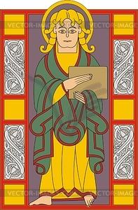 Der Evangelist Lukas (MS40618) - Vektorgrafik