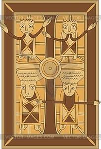 Kreuzigung Christi - Vektorgrafik