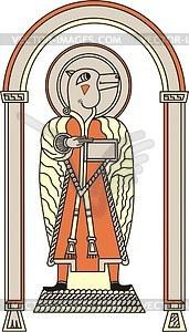 Evangelist Lukas - Vektor-Clipart