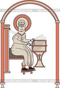 Evangelist Matthäus - Vektorgrafik