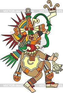 Der aztekische Gott Qu...