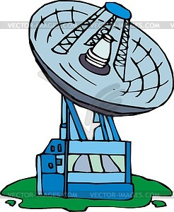 Antenne - Vektorgrafik