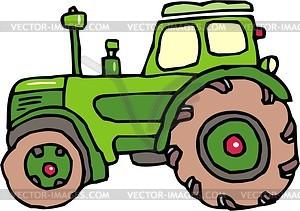 Traktor - Vector-Clipart / Vektorgrafik