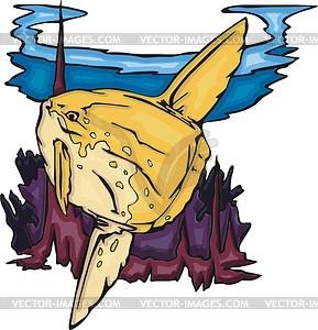 Mondfische - Stock Vektor-Bild