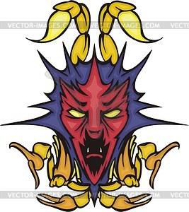 Skorpion Avatar - Vektorgrafik