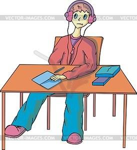 Schüler - Vector-Bild