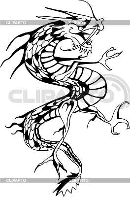 Dragon tattoo | 벡터 클립 아트 |ID 2022542