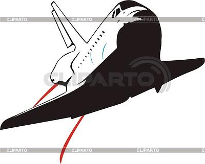 Space shuttle | Klipart wektorowy |ID 2013413