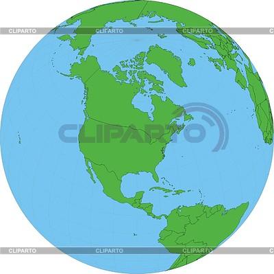 Глобус | Векторный клипарт |ID 2007038