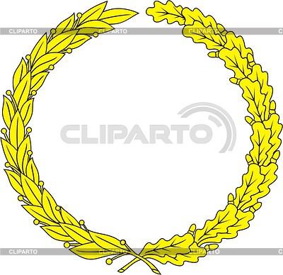 Wreath | Klipart wektorowy |ID 2012333