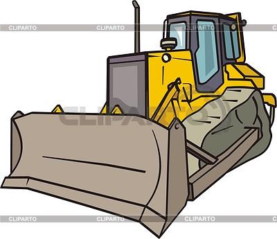 Bulldozer | 向量插图 |ID 2014737