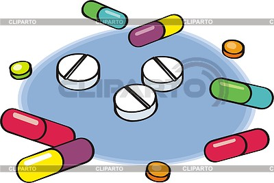 Pills | Klipart wektorowy |ID 2003145