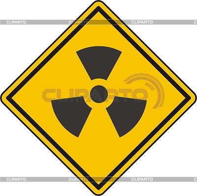 Radiation sign | Klipart wektorowy |ID 2014936