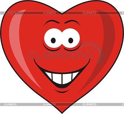 Heart smiley | Klipart wektorowy |ID 2009044