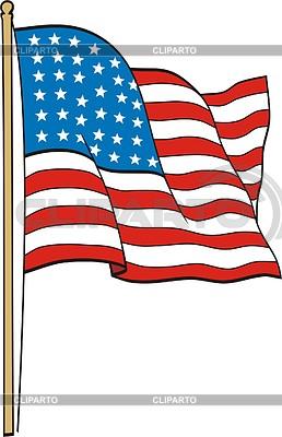 U.S. Flag | Klipart wektorowy |ID 2010365