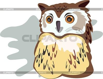 Owl | Klipart wektorowy |ID 2003691