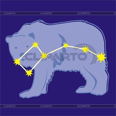 Sternbild Kleiner Bär | Stock Vektorgrafik |ID 2010012
