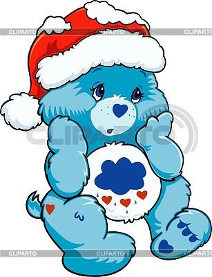Nice Christmas Teddy bear toy | Klipart wektorowy |ID 2005028