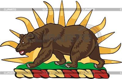 California state crest | Klipart wektorowy |ID 2008412