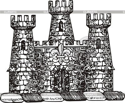 Burg | Stock Vektorgrafik |ID 2011908