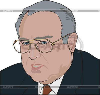 Wiktor Tschernomyrdin | Stock Vektorgrafik |ID 2007472