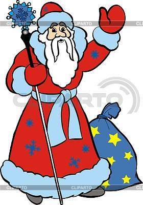 Santa Claus | Klipart wektorowy |ID 2000099