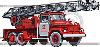 Feuerwehrwagen | Stock Vektorgrafik |ID 2010758