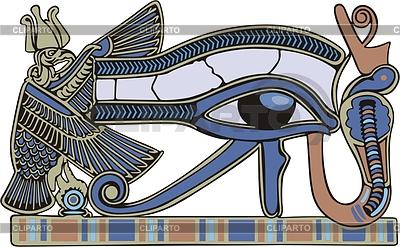 Horus eye | Klipart wektorowy |ID 2006763