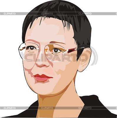 Irina Khakamada | 벡터 클립 아트 |ID 2006721