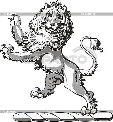 Lion crest | 벡터 클립 아트 |ID 2011071