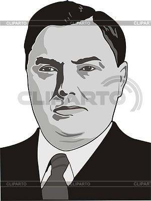 Georgy Malenkov | Klipart wektorowy |ID 2008490