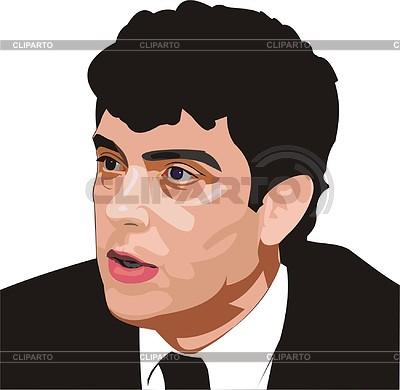 Boris Nemtsov | Klipart wektorowy |ID 2006722
