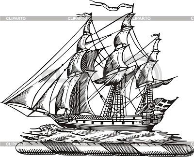 Ship | Klipart wektorowy |ID 2015421