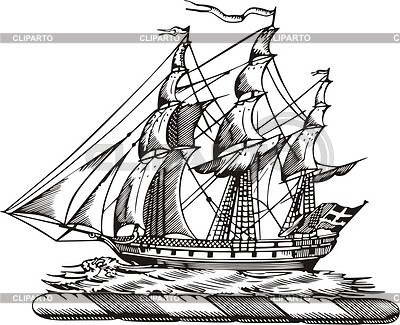 Ship | 벡터 클립 아트 |ID 2015421