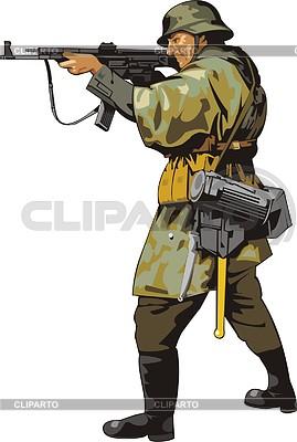 Soldat | Stock Vektorgrafik |ID 2008376