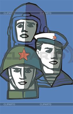 Soldiers | Klipart wektorowy |ID 2011858