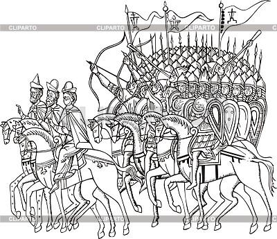 Krieger | Stock Vektorgrafik |ID 2011062