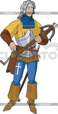 Lance-knight | Klipart wektorowy |ID 2006952