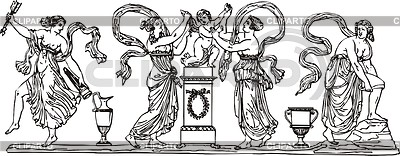 Antike Gravur | Stock Vektorgrafik |ID 2017449