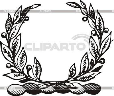 Wreath crest | Klipart wektorowy |ID 2014493