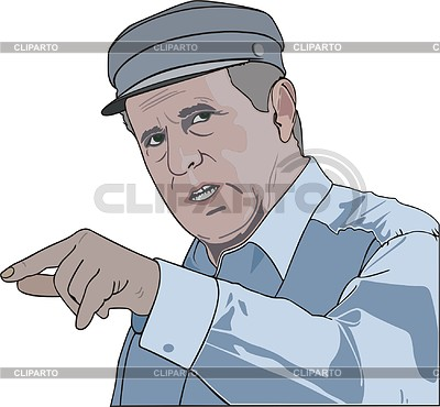 Владимир Жириновский | Векторный клипарт |ID 2007470