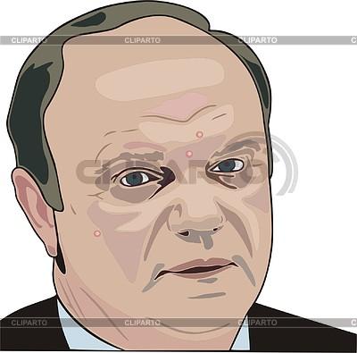 Gennadi Sjuganow | Stock Vektorgrafik |ID 2006728