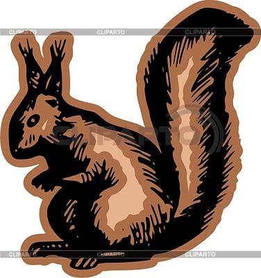Eichhörnchen | Stock Vektorgrafik |ID 2004276