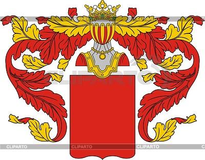 Геральдический щит | Векторный клипарт |ID 2013418