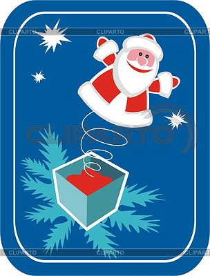 Weihnachtsmann | Stock Vektorgrafik |ID 2017159