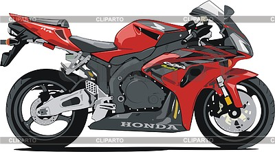 Motorcycle Honda CBR1000RR | Klipart wektorowy |ID 2012340