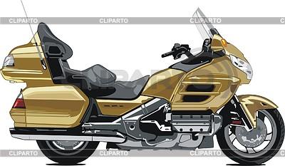 Motorcycle Honda Gold Wing | Klipart wektorowy |ID 2012342
