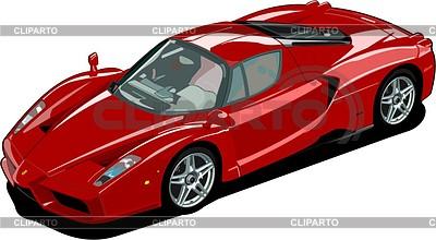 Car Ferrari Enzo | Klipart wektorowy |ID 2014530