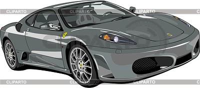 Car Ferrari F430 | Klipart wektorowy |ID 2014531